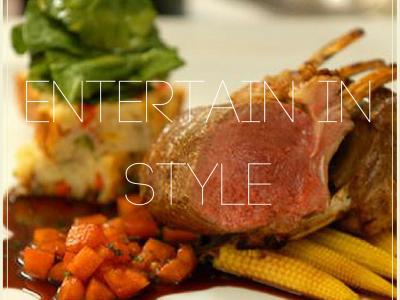 Entertain in style